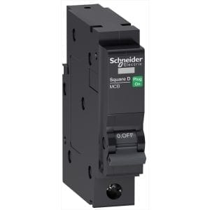QO Schneider Single Pole MCB's